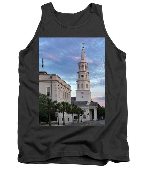 Steeple At Dusk Tank Top