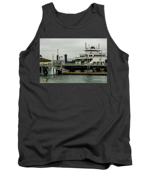 Steilacoom Ferry,washington State Tank Top