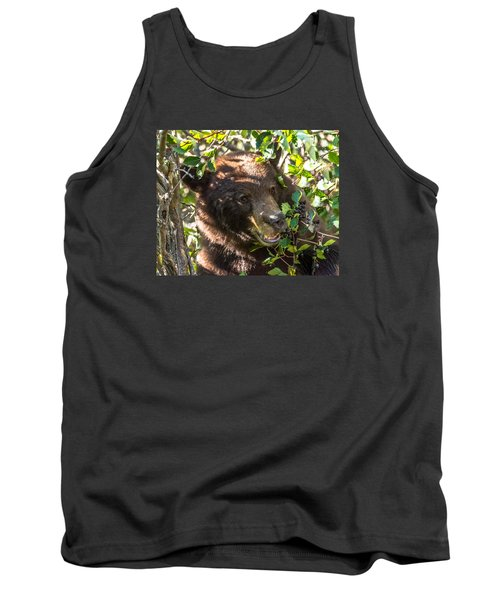 Tank Top featuring the photograph Step Away From The Berries by Yeates Photography