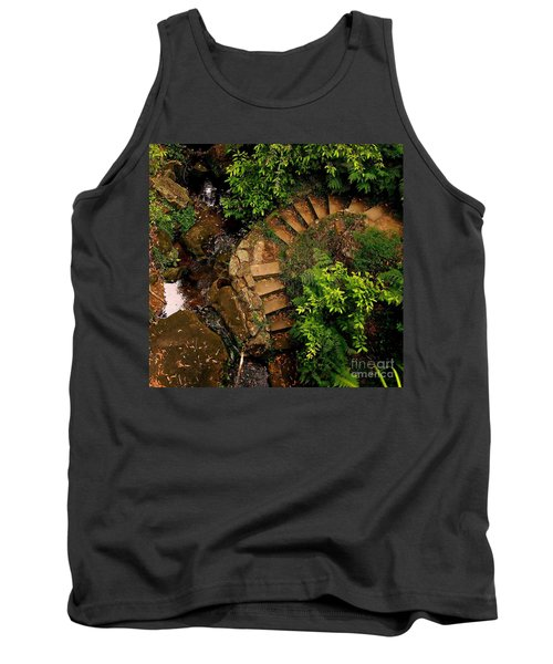 Steps Leading Up The Stairway To Heaven Tank Top by Blair Stuart