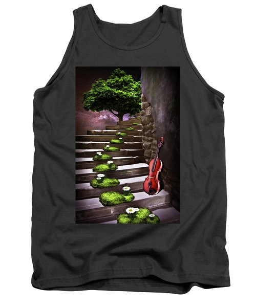 Steps Of Happiness Tank Top by Mihaela Pater