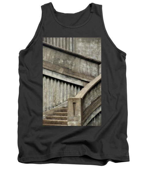 Steps Two Tank Top by Newel Hunter
