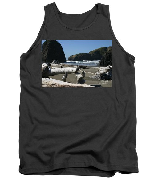 Sticks And Stones Tank Top by Marie Neder
