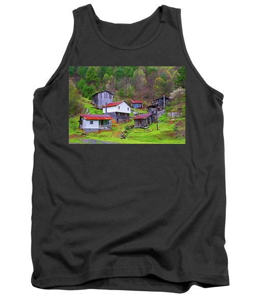 Stike Holler Tank Top by Dale R Carlson
