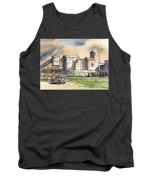 Tank Top featuring the painting Still In Business by Terry Banderas
