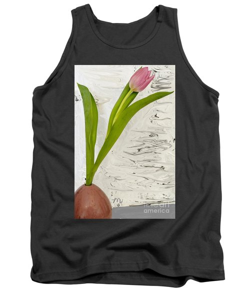 Tank Top featuring the photograph Still Life Tulip by Marsha Heiken