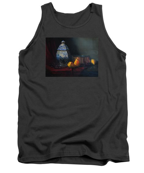 Still Life With Antique Dutch Vase Tank Top