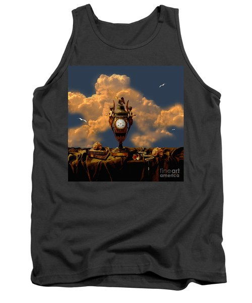 Tank Top featuring the digital art Still Life With Pearls by Alexa Szlavics
