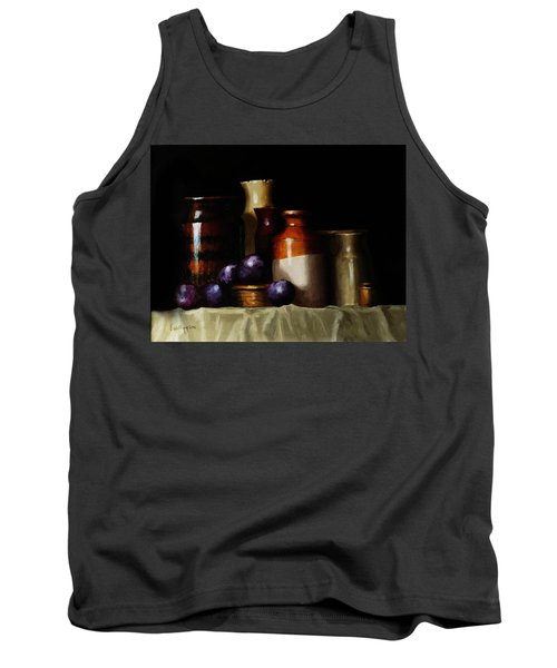 Still Life With Plums Tank Top