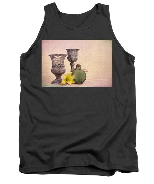 Still Life With Yellow Lily Tank Top
