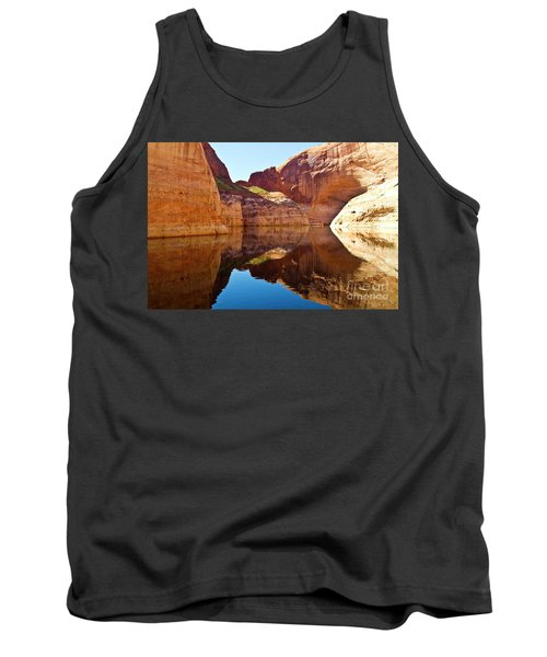 Still Waters Tank Top by Kathy McClure