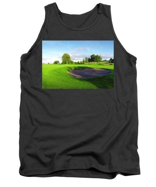 Stirling Golf Club 10th Tank Top by Jan W Faul