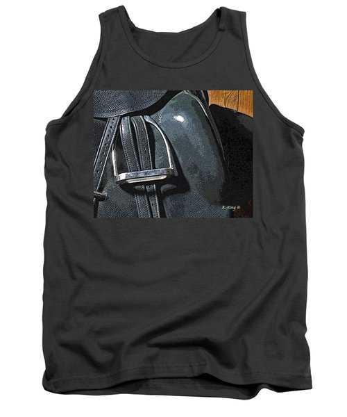 Tank Top featuring the painting Stirrup by Roena King
