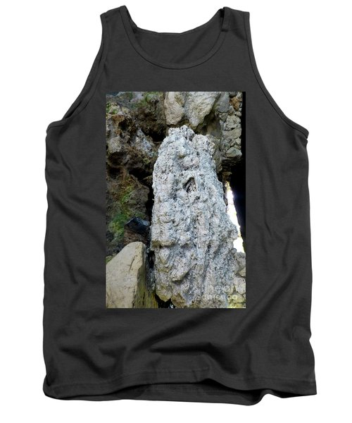 Tank Top featuring the photograph Stone Over Time by Francesca Mackenney