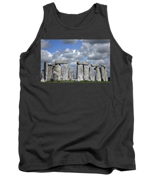 Stonehenge Tank Top by Elvira Butler