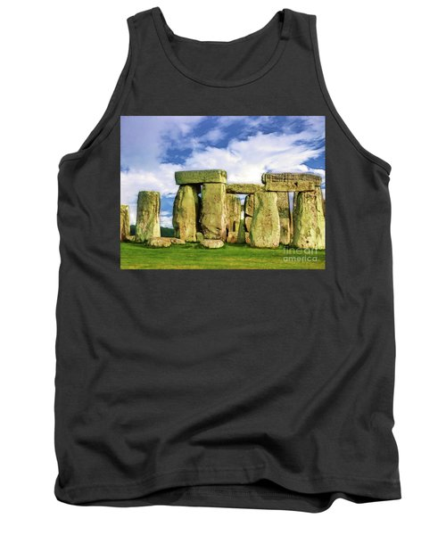 Stonehenge Tank Top by Judi Bagwell