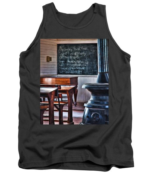 Stoney Point School Room Tank Top by Lana Trussell