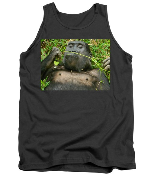 Stop And Smell The Grass Tank Top by Emmy Marie Vickers