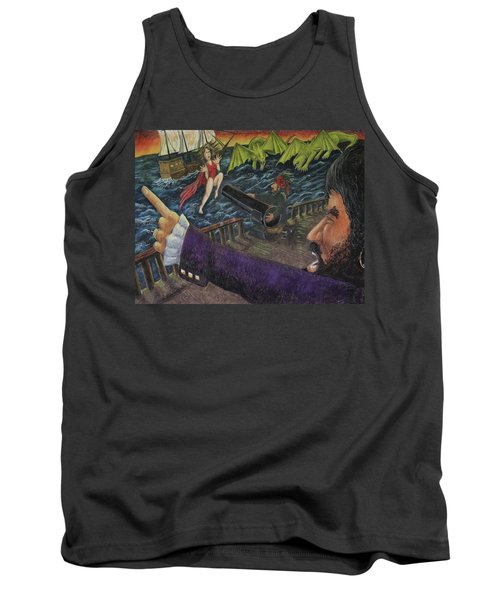 Stopping The Pirate Tank Top