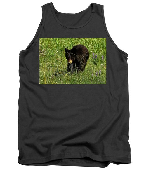 Stopping To Smell The Flowers Tank Top