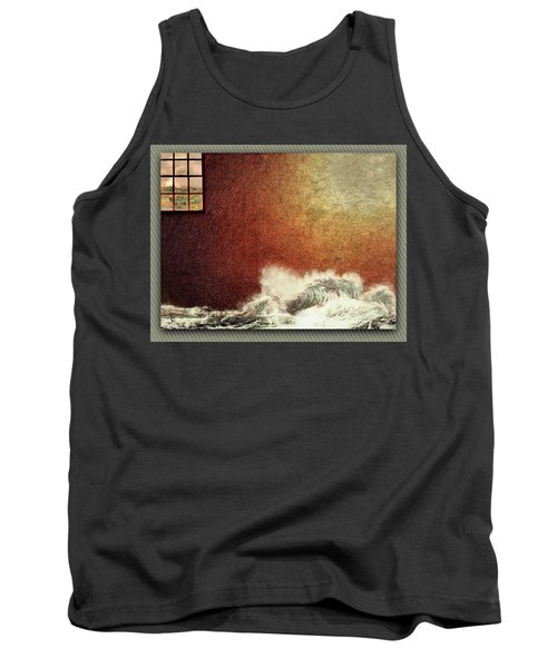 Storm Against The Walls Tank Top