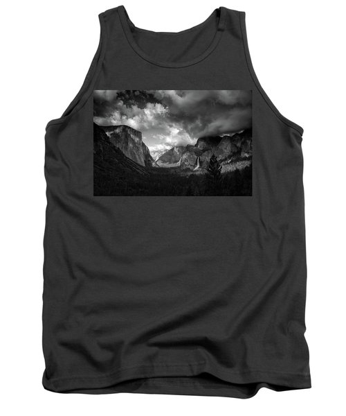 Storm Arrives In The Yosemite Valley Tank Top