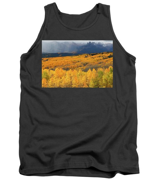 Storm At Ohio Pass During Autumn Tank Top by Jetson Nguyen