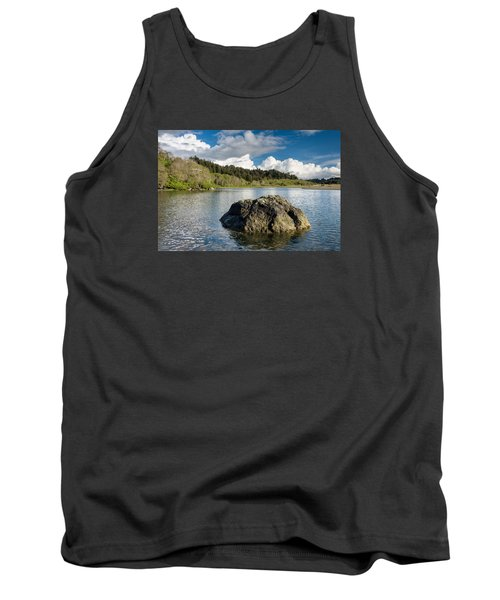 Storm Clearing On The Little River Tank Top by Greg Nyquist