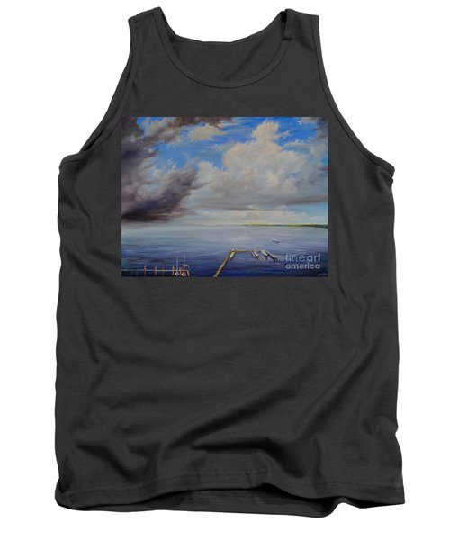 Storm On The Indian River Tank Top