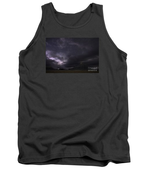 Tank Top featuring the photograph Storm Over Factory Butte by Keith Kapple