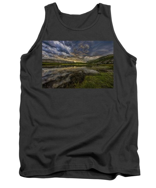 Storm Over Madison River Valley Tank Top