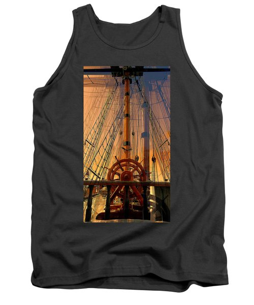 Storm Ship Of Old Tank Top