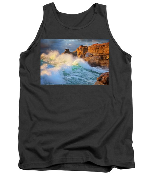 Tank Top featuring the photograph Storm Watchers by Darren White
