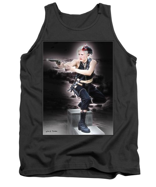 Storming The Beach Tank Top