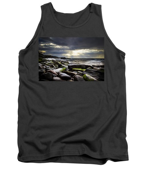 Tank Top featuring the photograph Storm's End by Laura Roberts