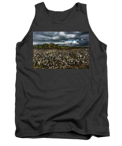 Stormy Cotton Field Tank Top