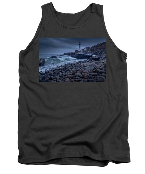 Stormy Lighthouse Tank Top