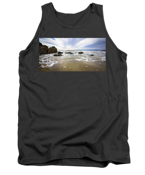 Stormy Maine Morning #1 Tank Top