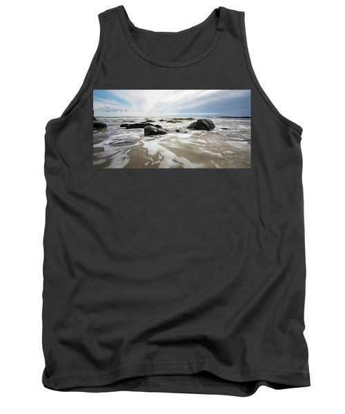 Stormy Maine Morning #3 Tank Top