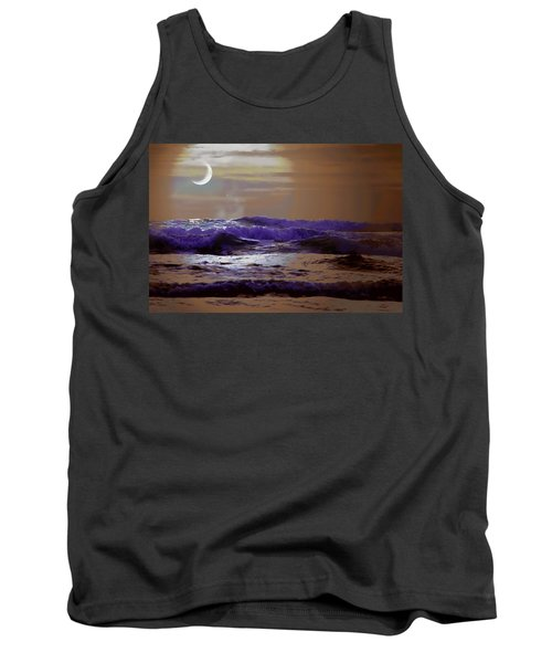 Tank Top featuring the photograph Stormy Night by Aaron Berg
