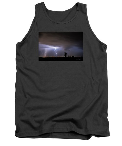 Stormy Night Tank Top by Karen Slagle