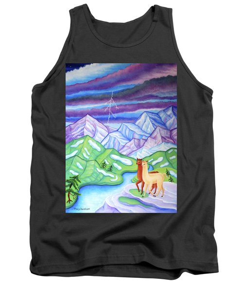 Stormy Weather Tank Top by Tracy Dennison