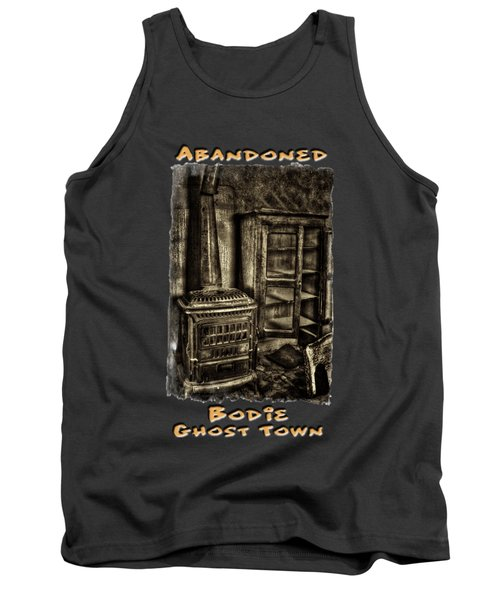 Stove And Cabinet Bodie Ghost Town Tank Top