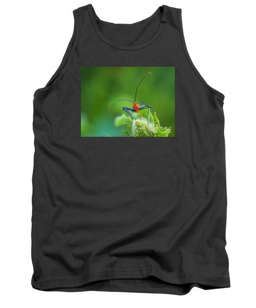 Straight In The Eye Look  Tank Top by Tom Claud