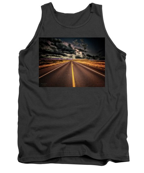 Straight Lines  ... Tank Top by Chuck Caramella
