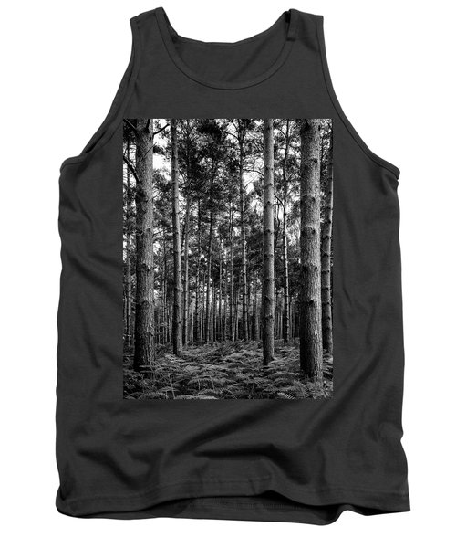 Tank Top featuring the photograph Straight Up by Nick Bywater