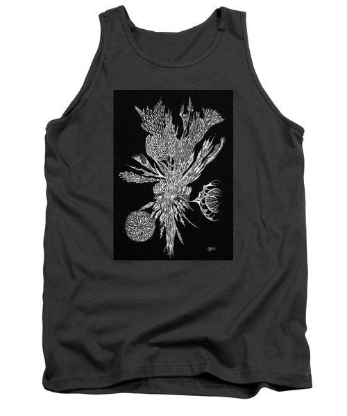 Bouquet Of Curiosity Tank Top by Charles Cater
