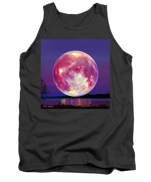 Strawberry Solstice Moon Tank Top