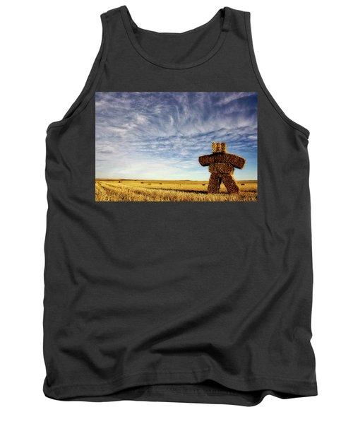 Strawman On The Prairies Tank Top