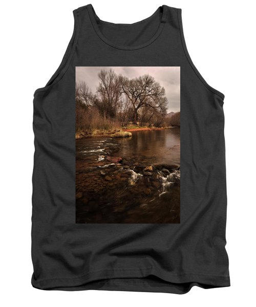 Stream And Tree Tank Top